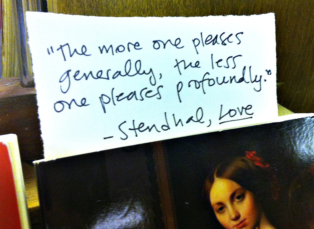 Stendhal's quote #6