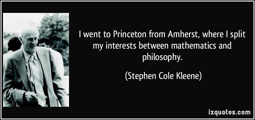 Stephen Cole Kleene's quote #4