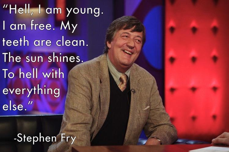 Stephen Fry's quote #3