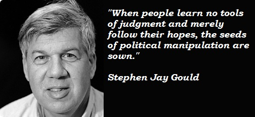 Stephen Jay Gould's quote #1