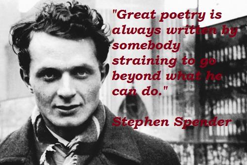 Stephen Spender's quote #2