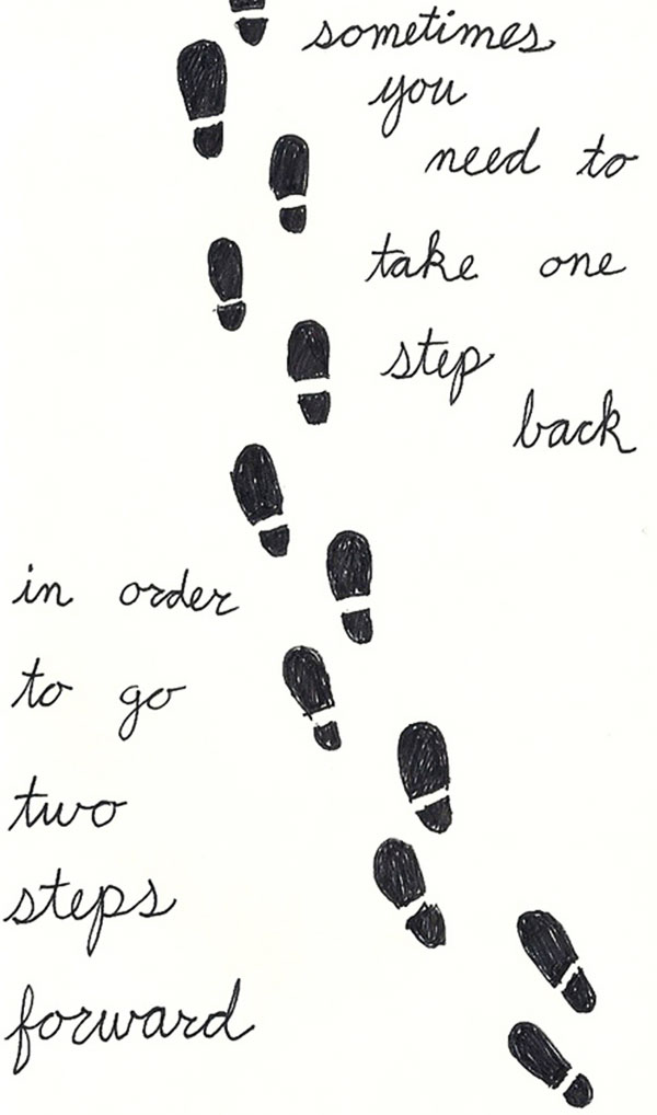 Steps quote #4