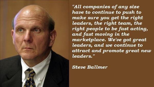 Steve Ballmer's quote #2