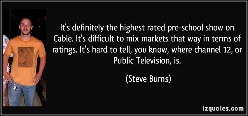 Steve Burns's quote #1