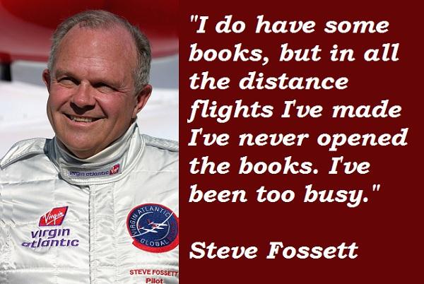 Steve Fossett's quote #3