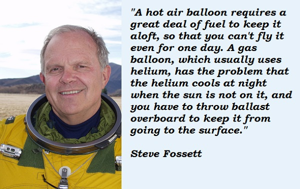 Steve Fossett's quote #2