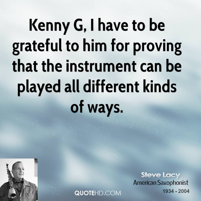 Steve Lacy's quote #2