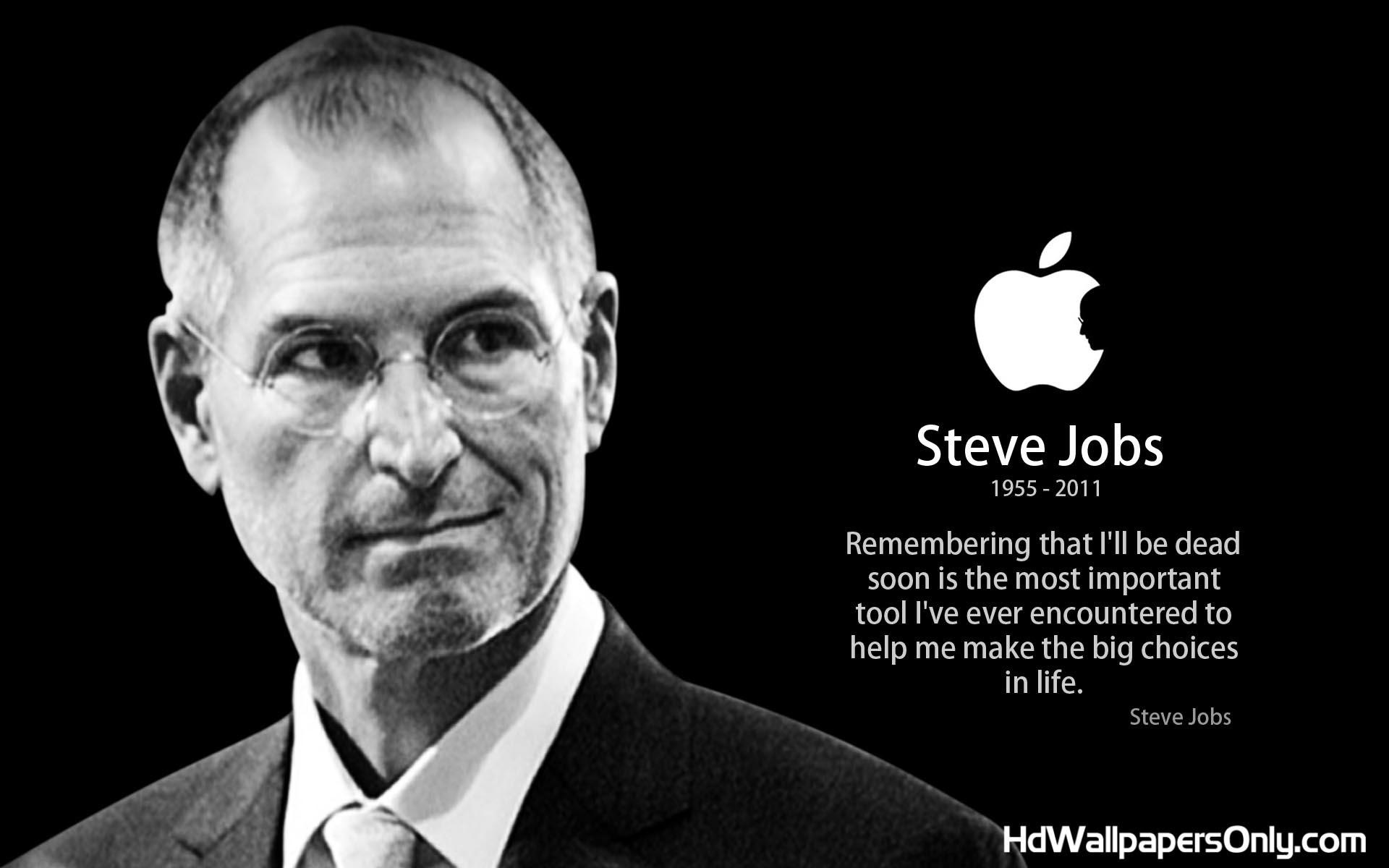 Steve quote #1