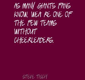 Steve Tisch's quote #4