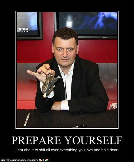 Steven Moffat's quote #6