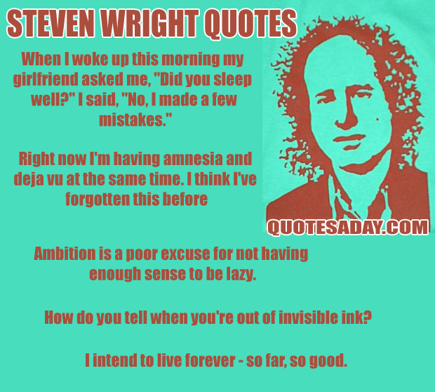 Steven Wright's quote #5