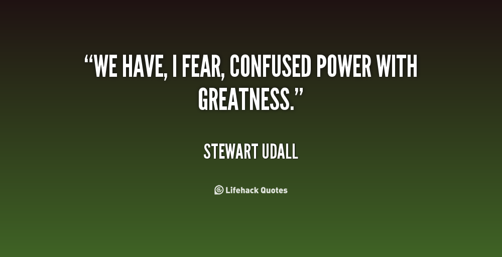 Stewart Udall's quote #1