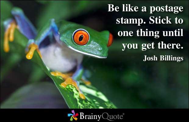 Stick quote #2
