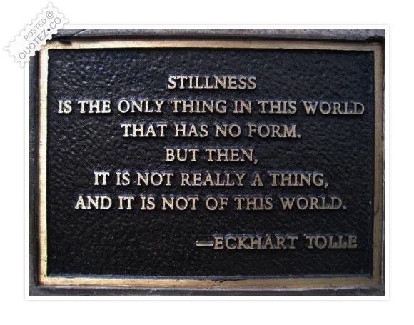 Stillness quote #1