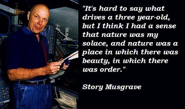 Story Musgrave's quote #1
