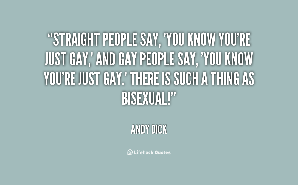 Straight People quote #1