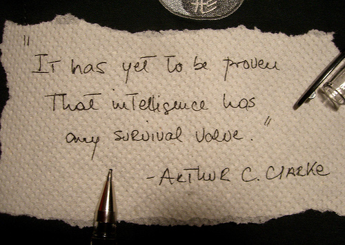 Strange quote #3