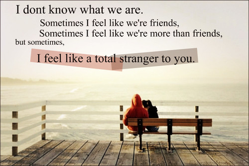 Stranger quote #5