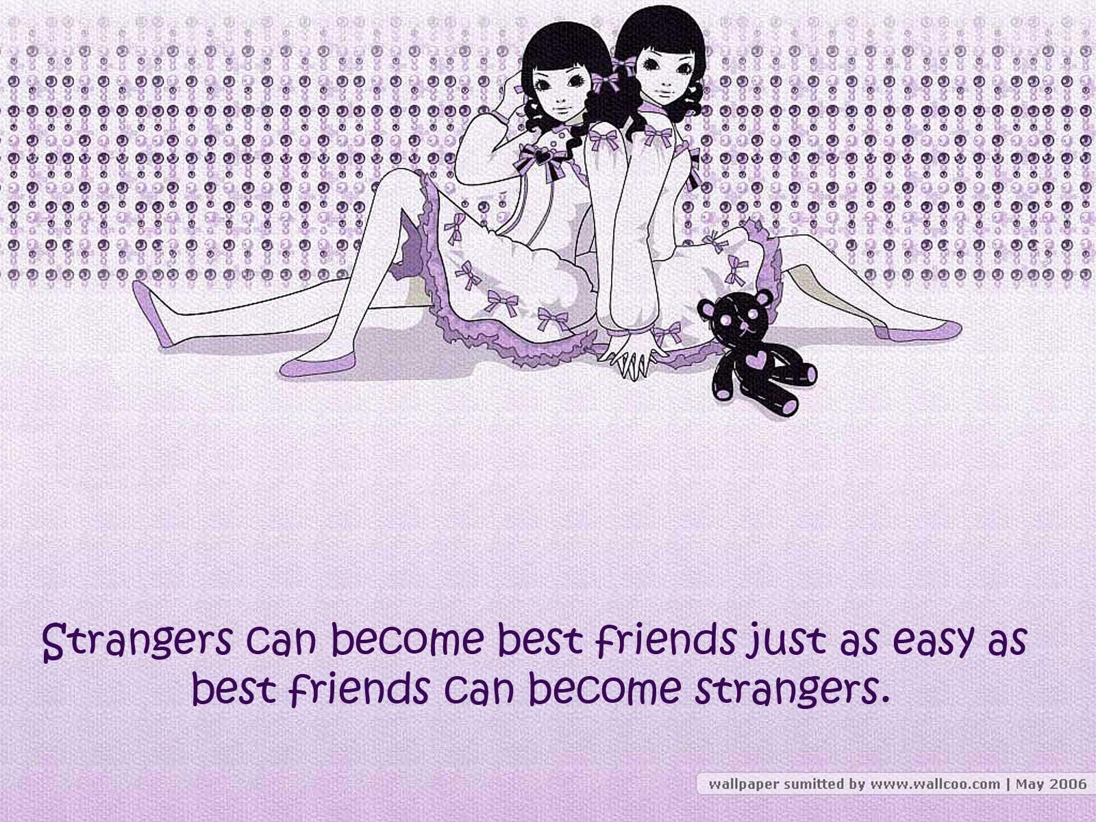 Strangers quote #5