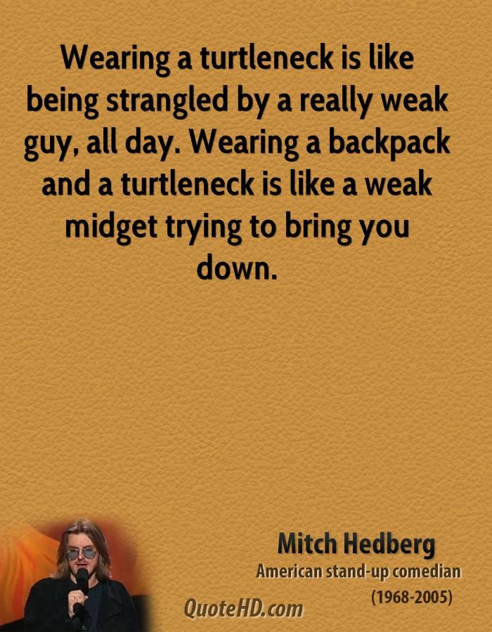 Strangled quote
