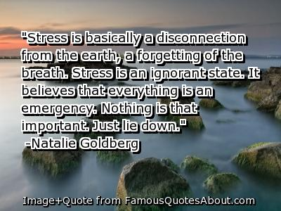 Stressful quote #1