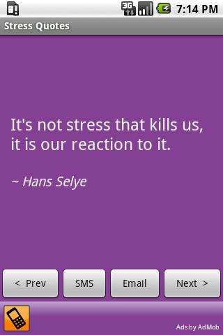 Stressful quote #4