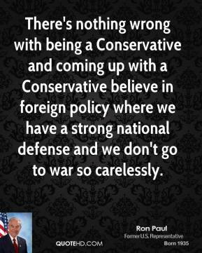 Strong National Defense quote