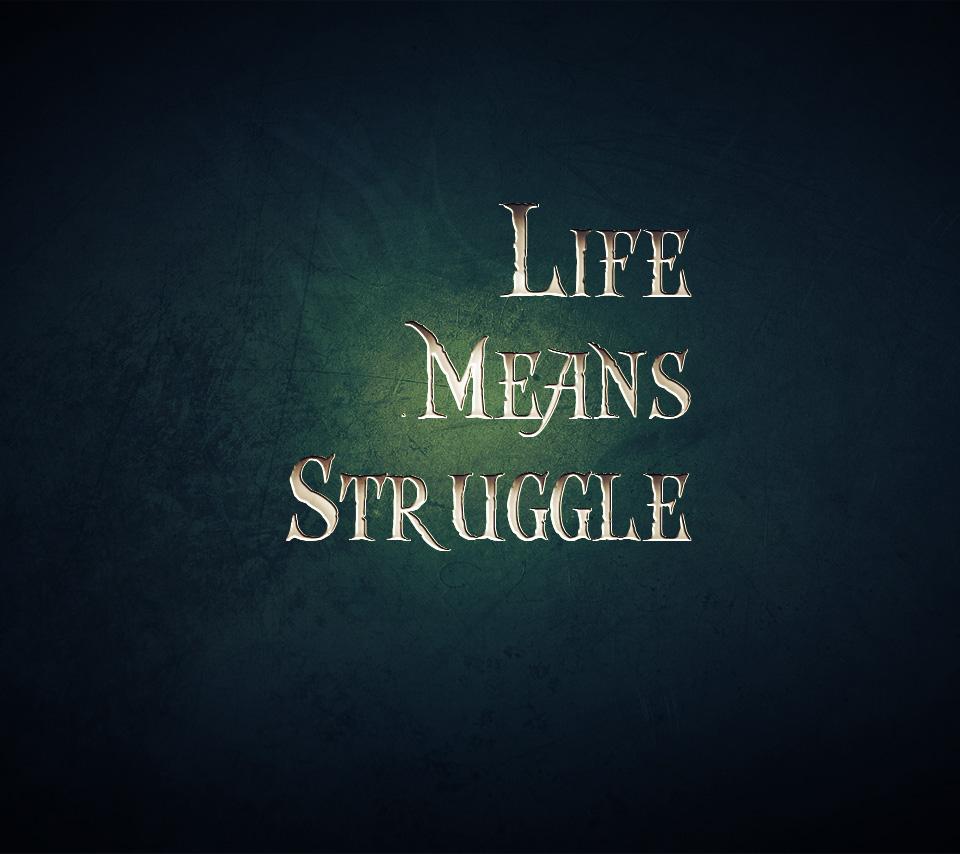 Struggle quote #2