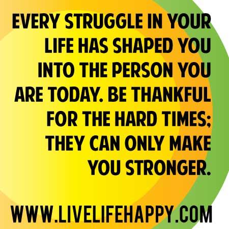 Struggles quote #2