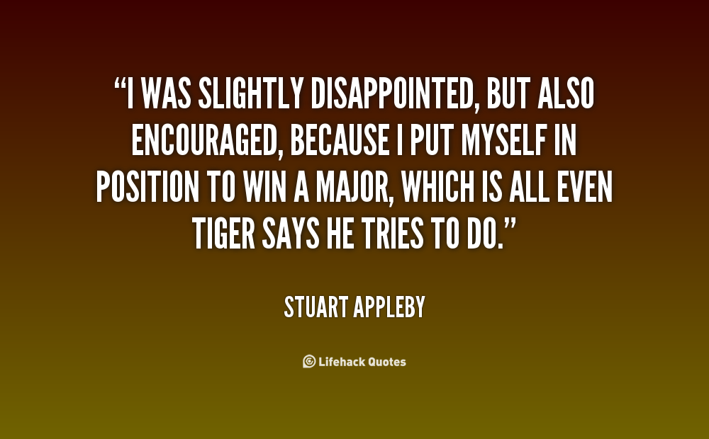 Stuart Appleby's quote #4