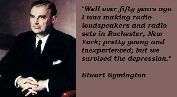 Stuart Symington's quote #1