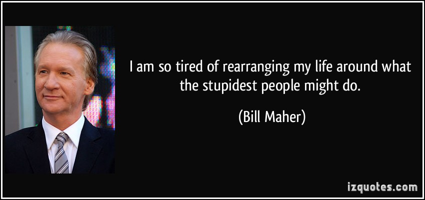 Stupidest quote #1