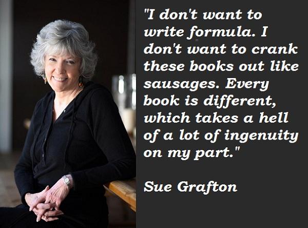 Sue Grafton's quote #7