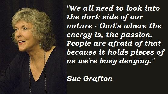 Sue Grafton's quote #4