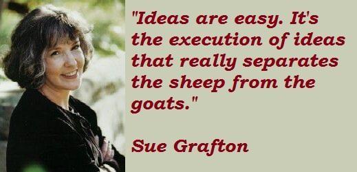 Sue Grafton's quote #1