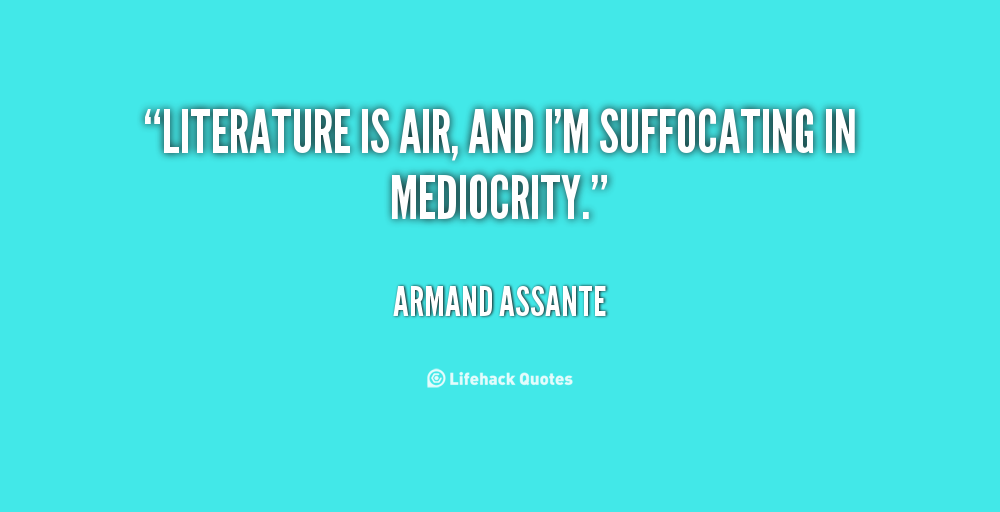 Suffocating quote #2
