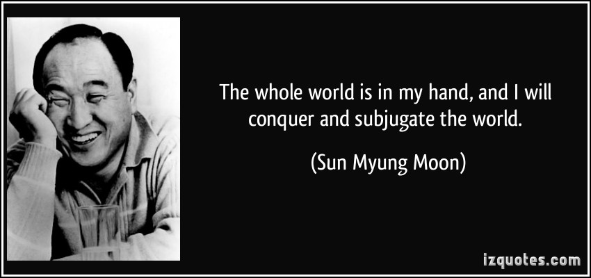Sun Myung Moon's quote #1