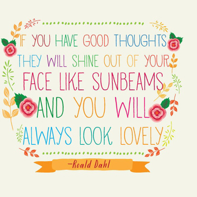 Sunbeams quote
