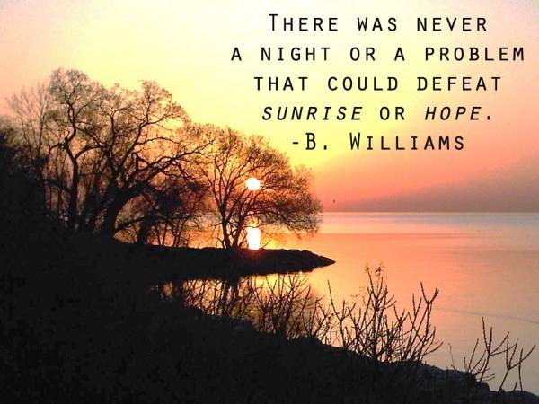 Sunrise quote #8