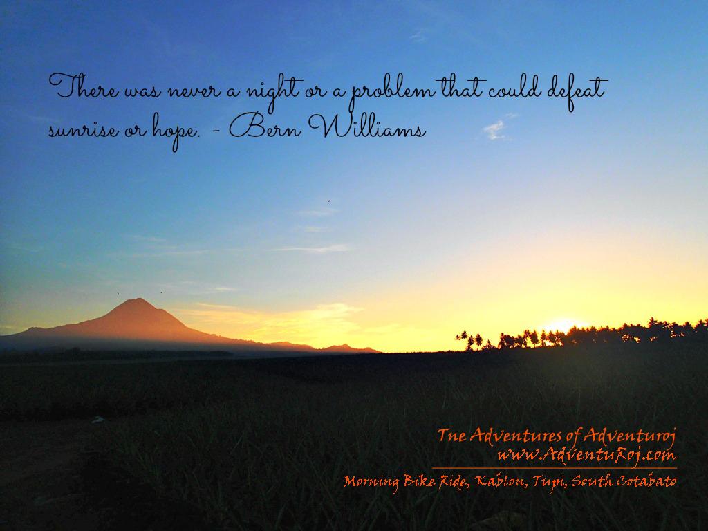 Sunrise quote #2