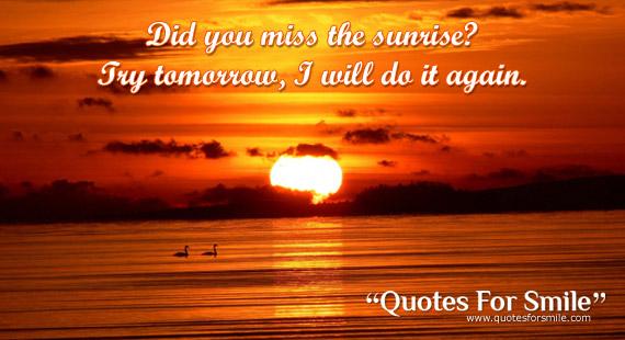 Sunrise quote #6