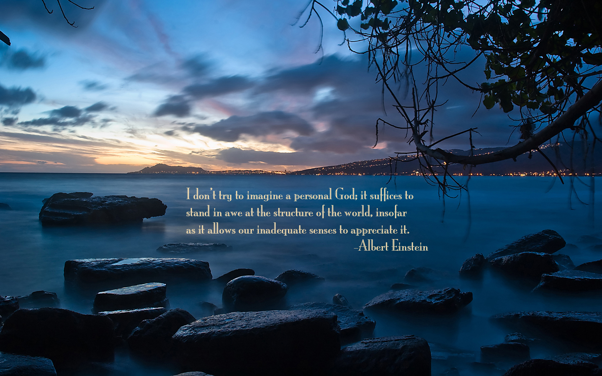 Sunset quote #2