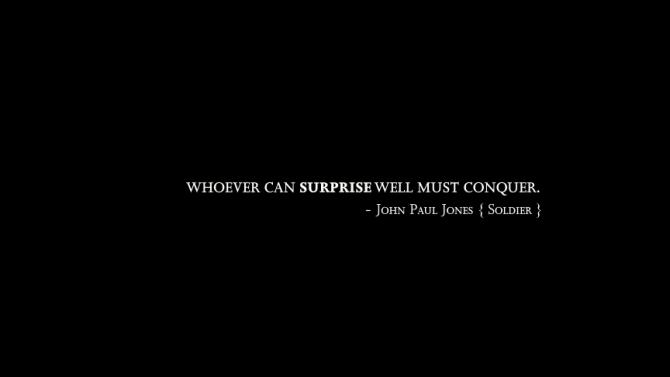 Surprise quote #3