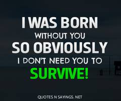Survive quote #7
