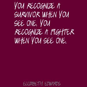Survivor quote #2