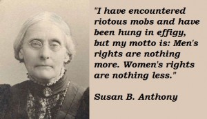 Susan B. Anthony's quote #3
