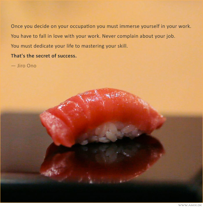 Sushi quote #1