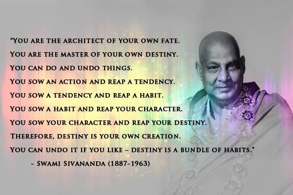 Swami Sivananda's quote #7
