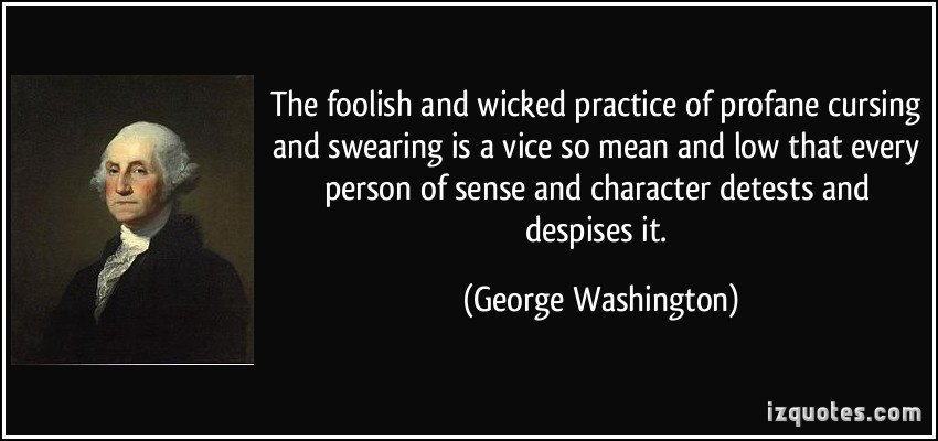 Swearing quote #1