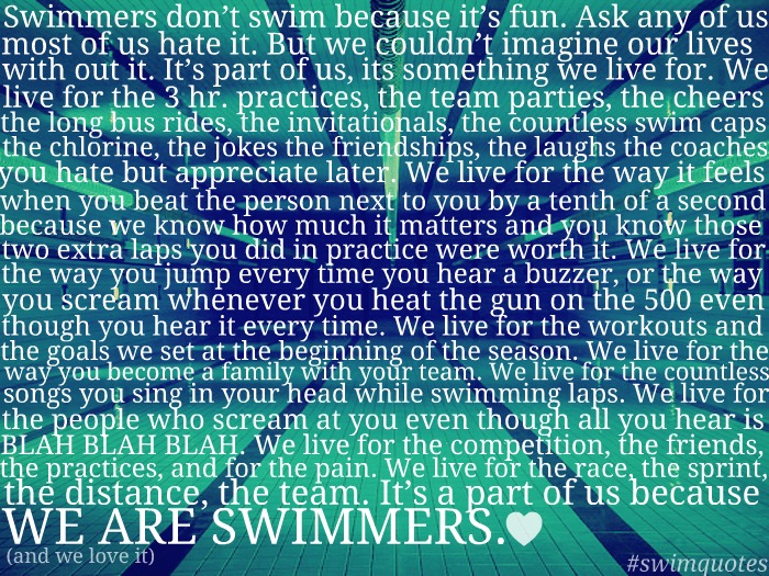 Swimming quote #3